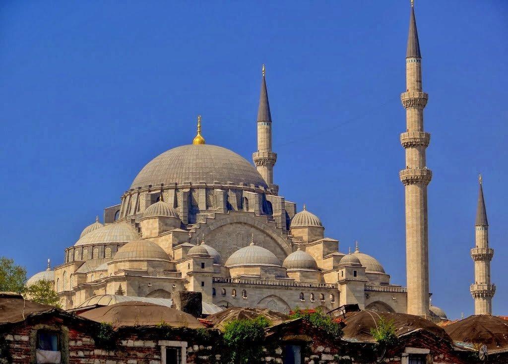 конструкции можно мечеть султана сулеймана в стамбуле фото расскажет несколько