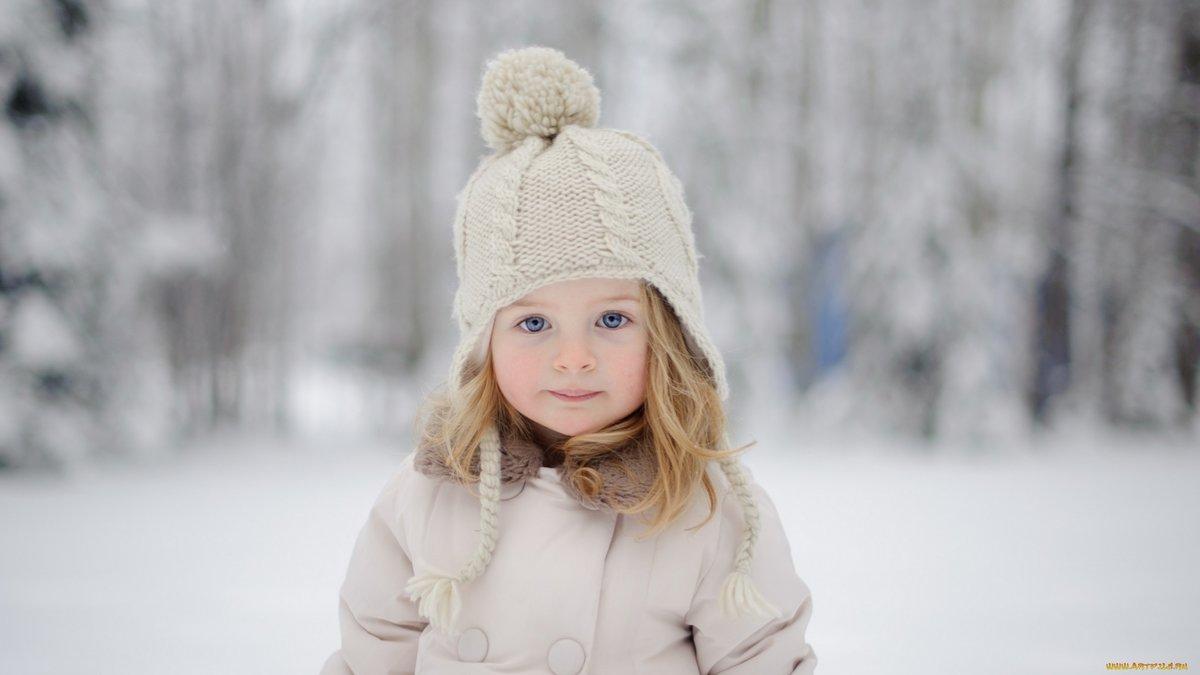 галерея зимние фото с детьми праздничного