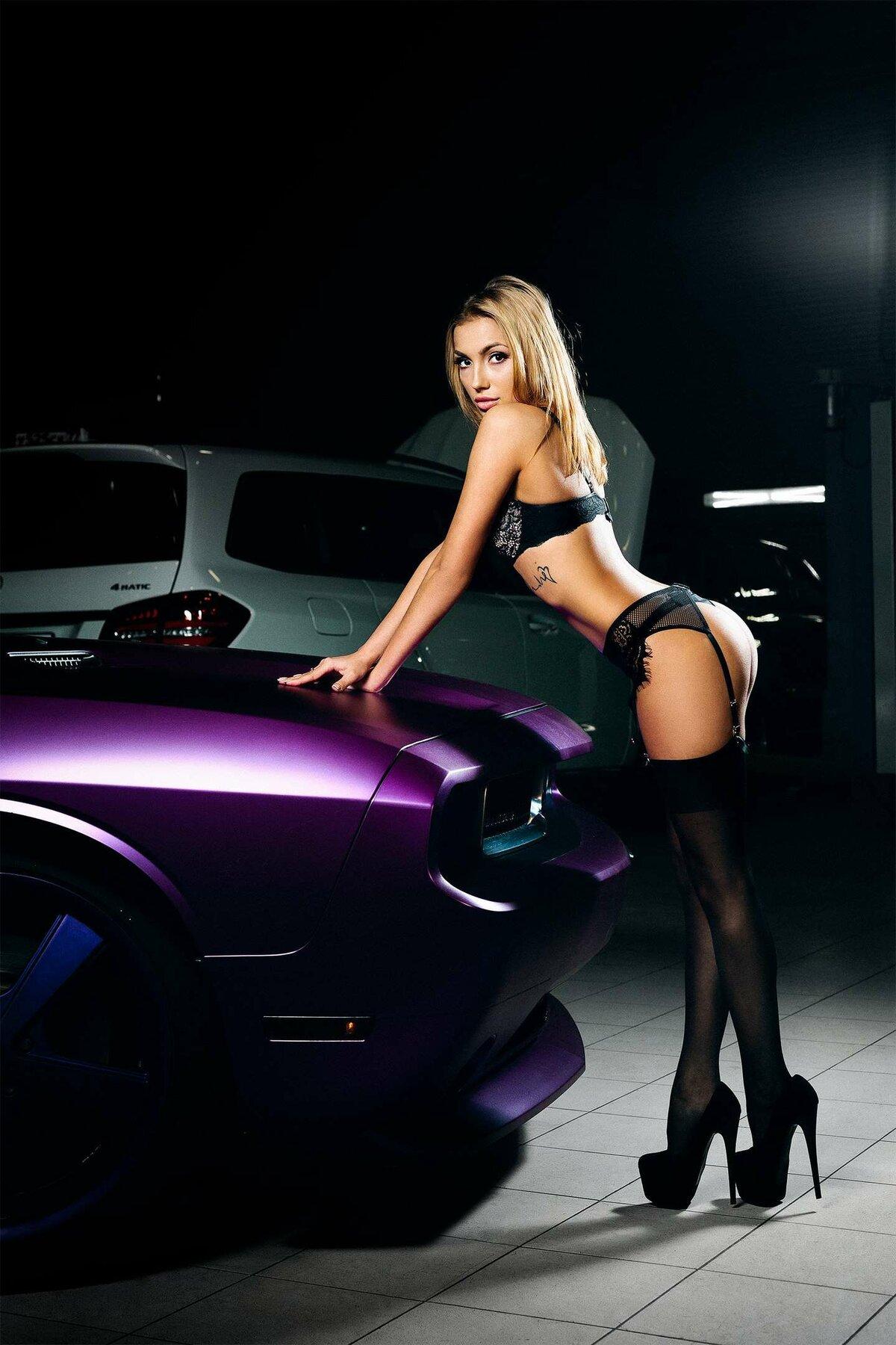 машины девушки новые секси мужика