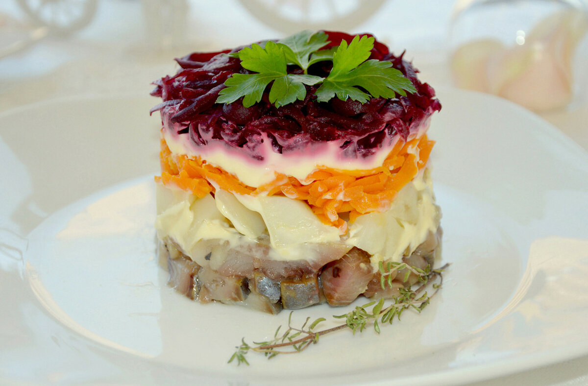 так, салат рыба под шубой рецепт с фото сердечника лугового
