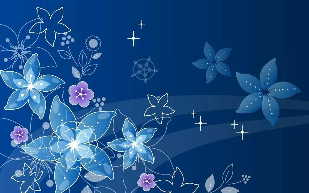 Голубые фоны на открытку, картинки для
