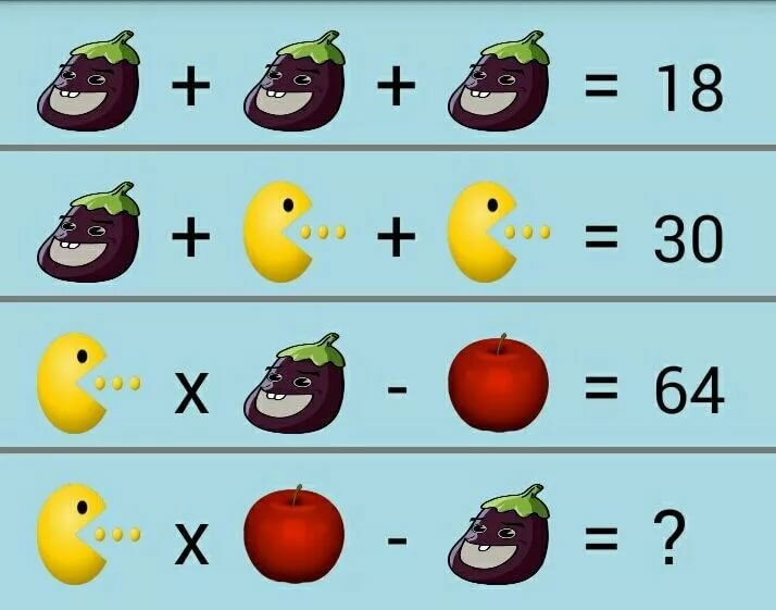 математические головоломки картинки решение