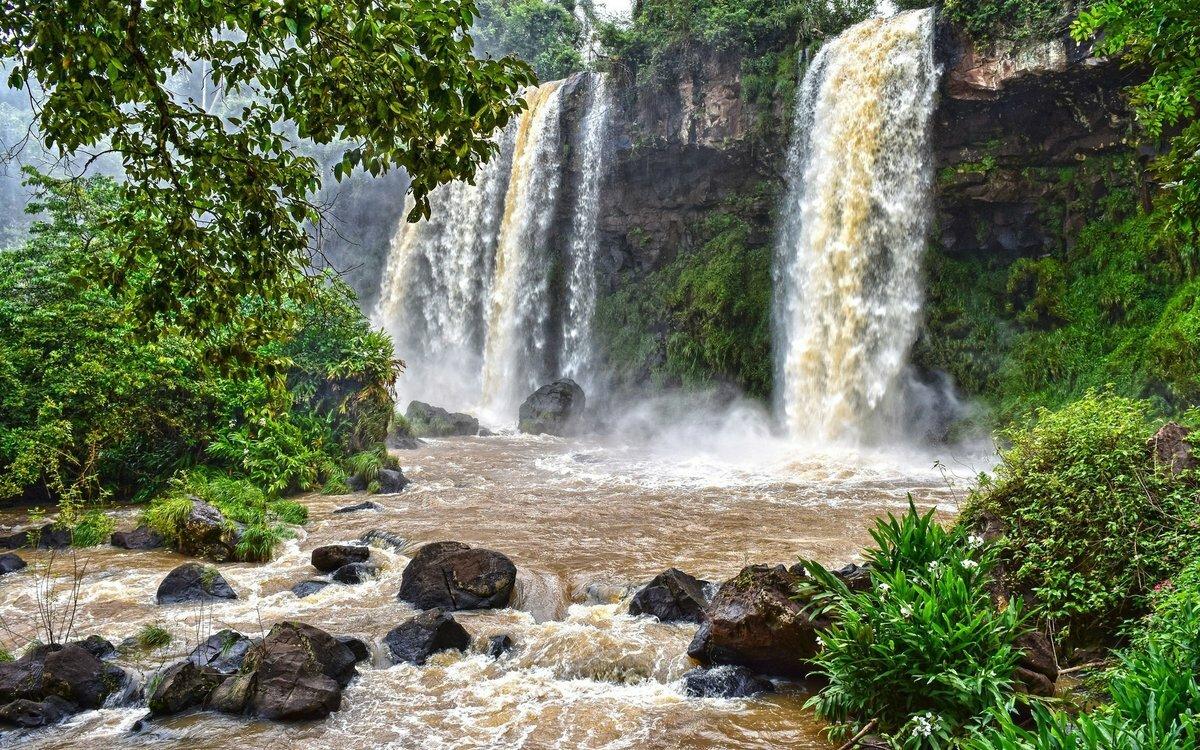 Картинки водопадов