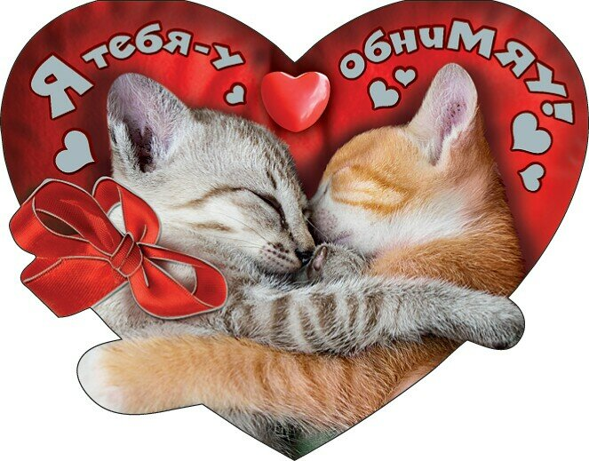 Открытки люблю целую обнимаю тебя моя
