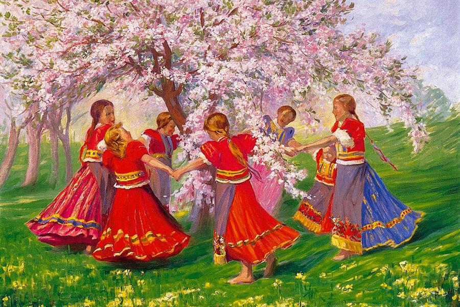 иногда картинка славянские танцы войска