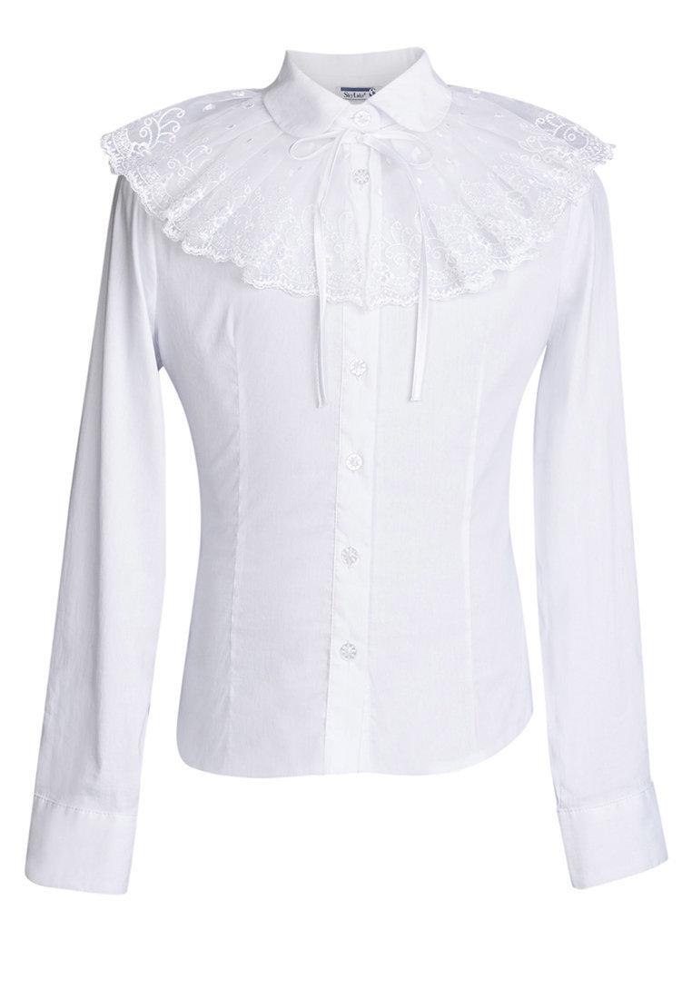 школьная блузка для девочки купить