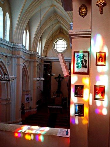 курский католический собор внутри