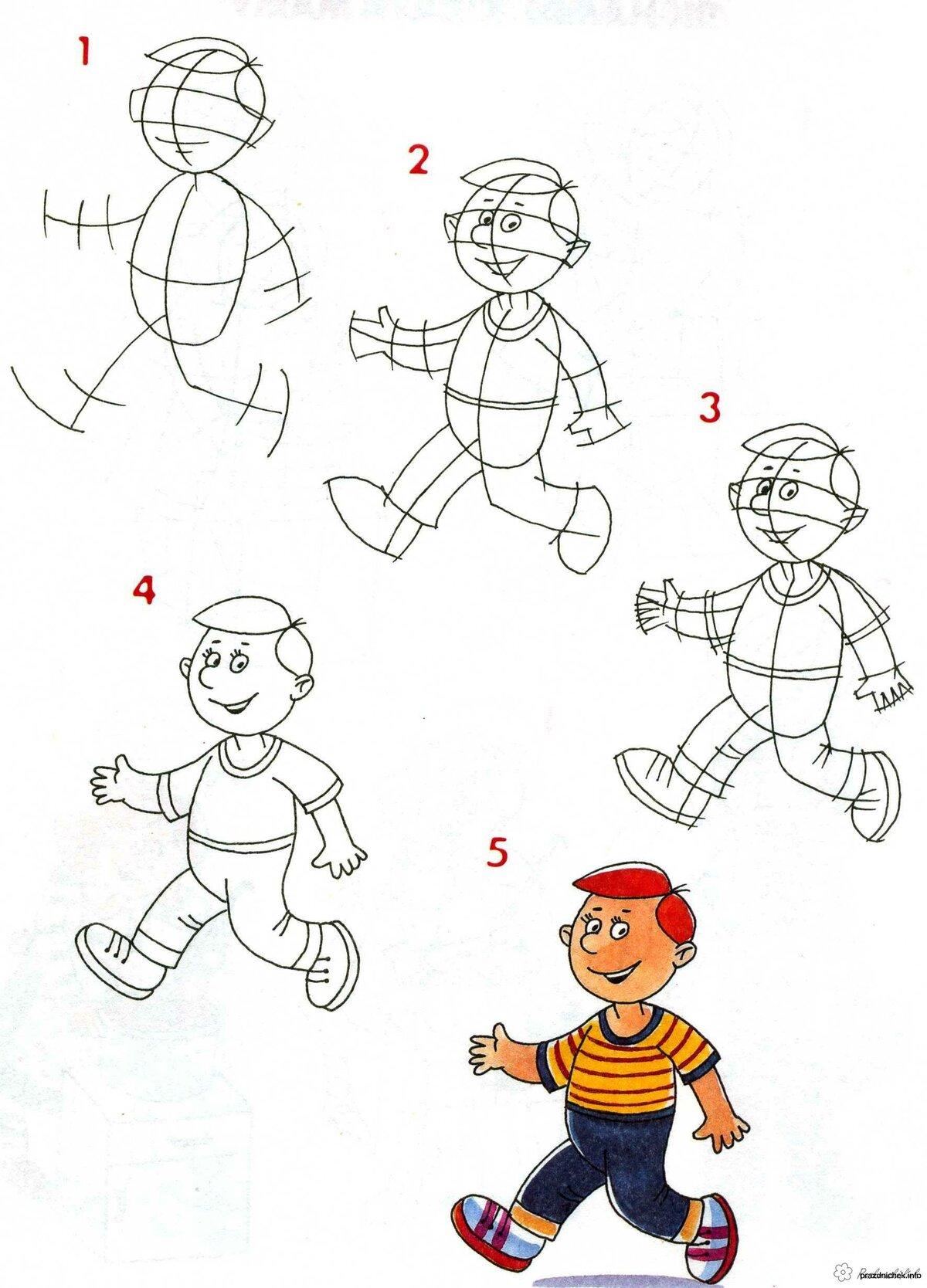 Как нарисовать картинку для мальчика, днем рождения