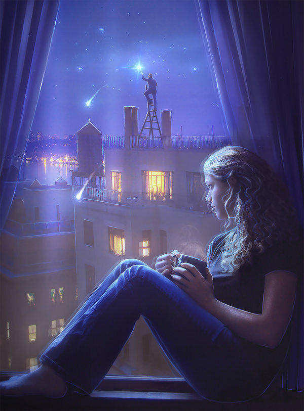 Картинка про, ночные картинки гифки