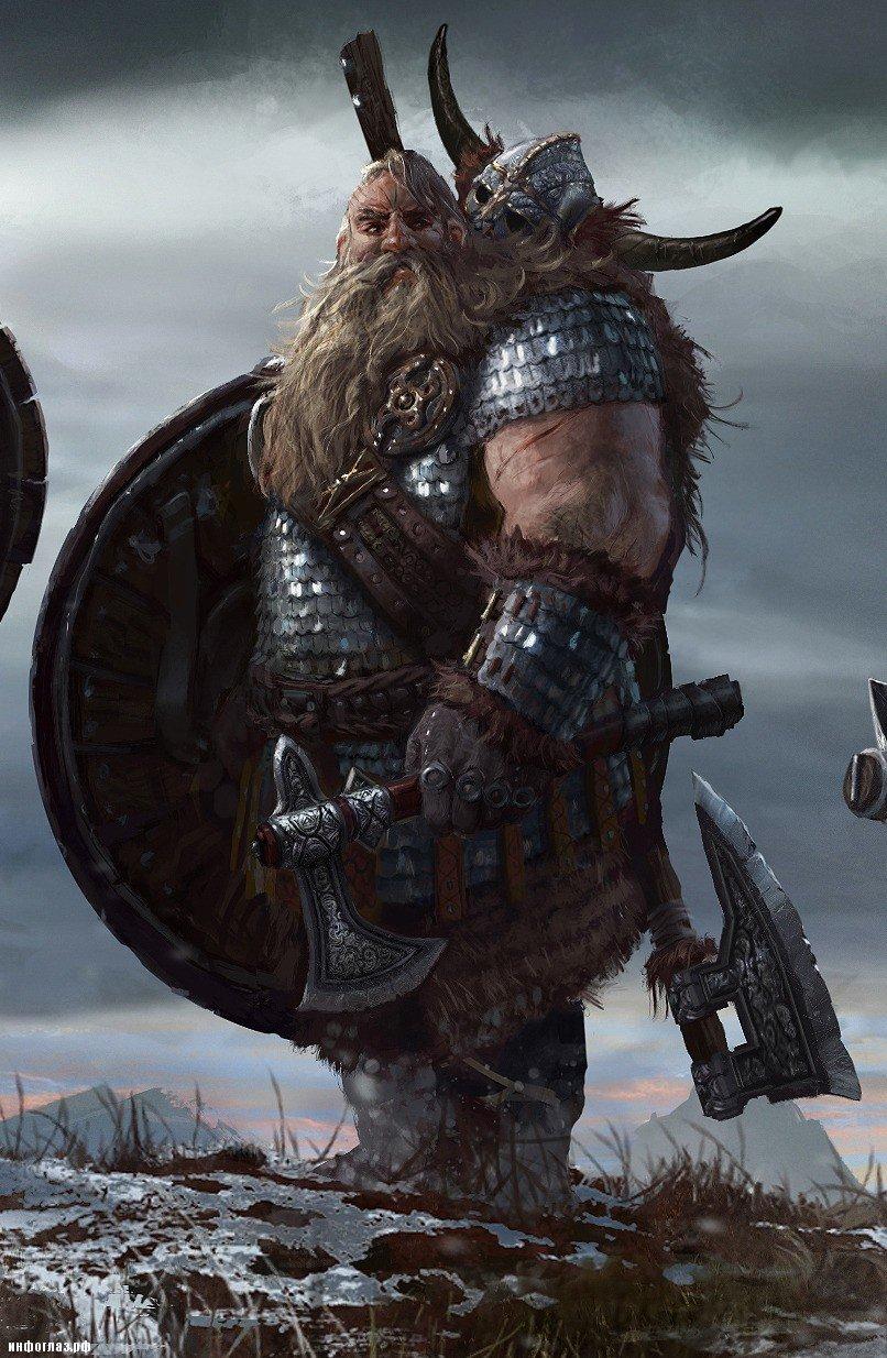 Картинка с викингами