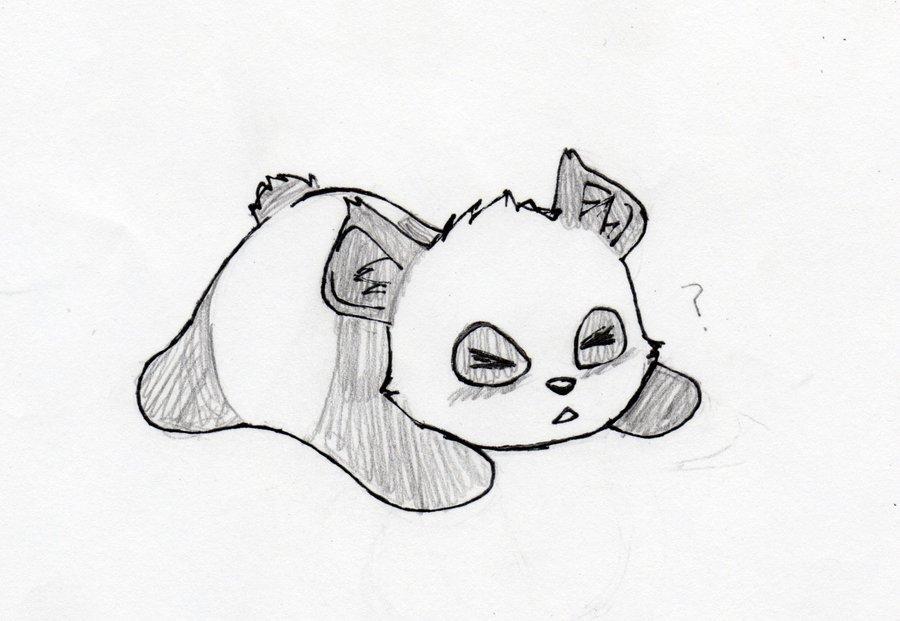 Няшные картинки для срисовки карандашом для начинающих