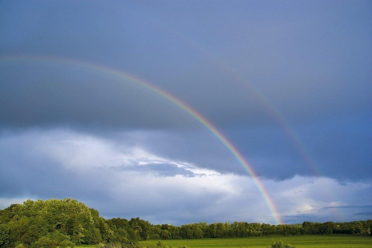 Фотографии с радугой большое разрешение