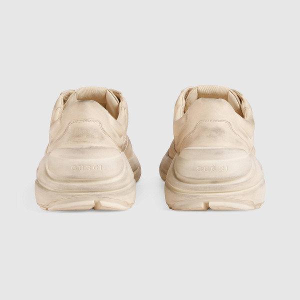 1f462842a86d Кроссовки Rhyton Gucci logo leather sneaker. - Мужская обувь Киев на  Подробности..