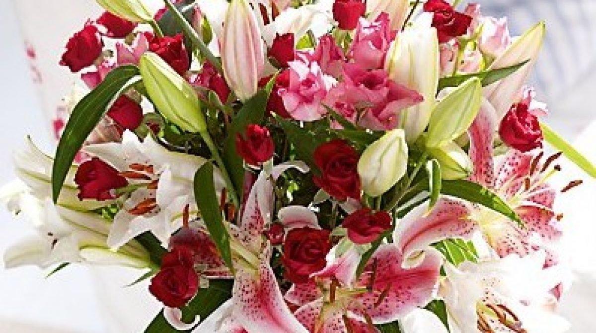 Открытки с днем рождения цветами лилии