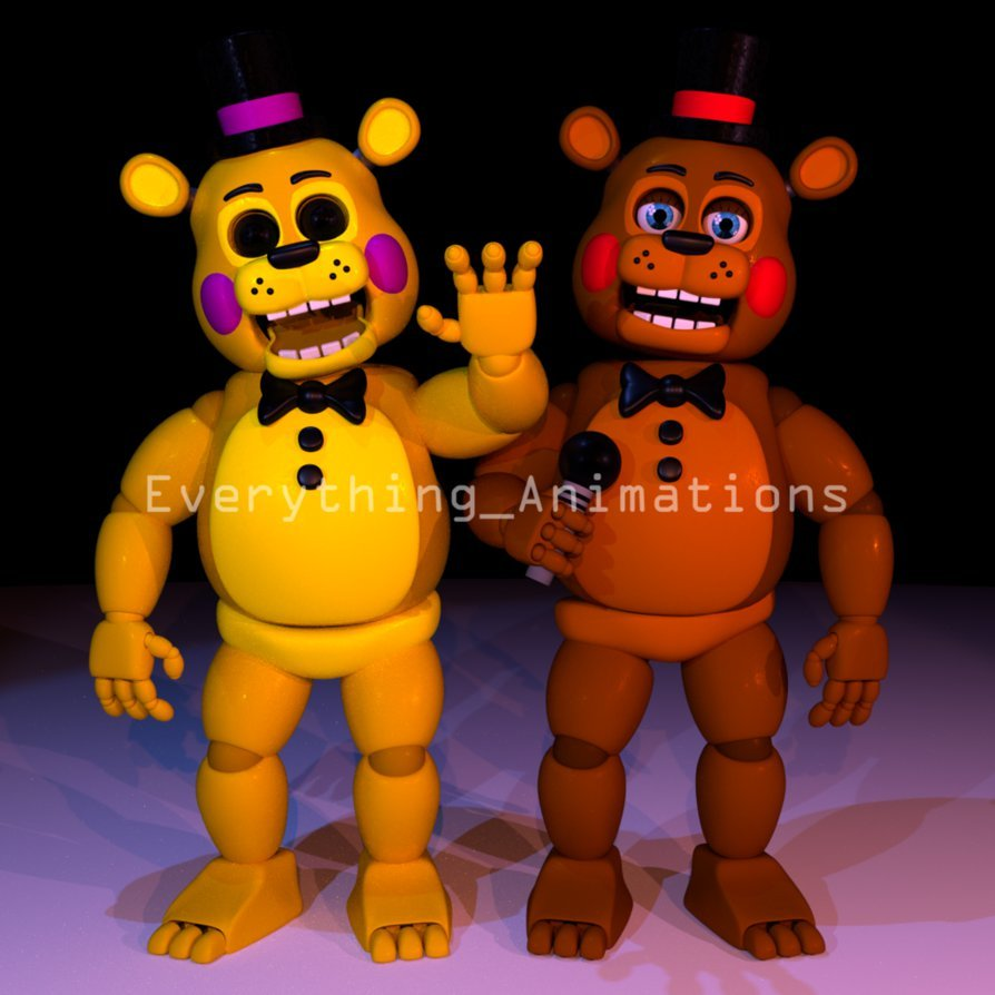 Strongest Blender In The WorldToy Golden Freddy And Toy By EverythingAnimations Plus613