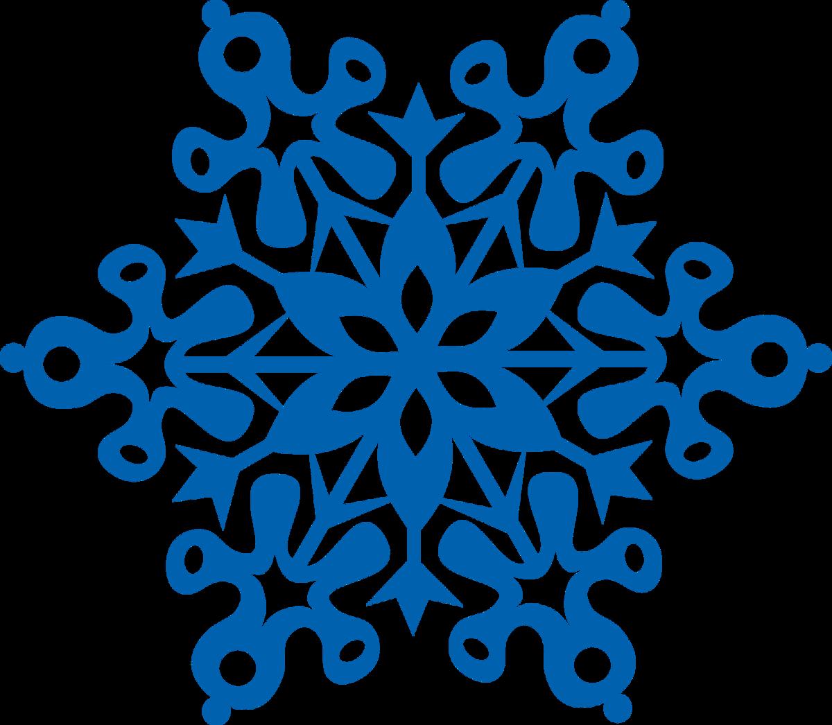 картинка снежинки на прозрачном фоне
