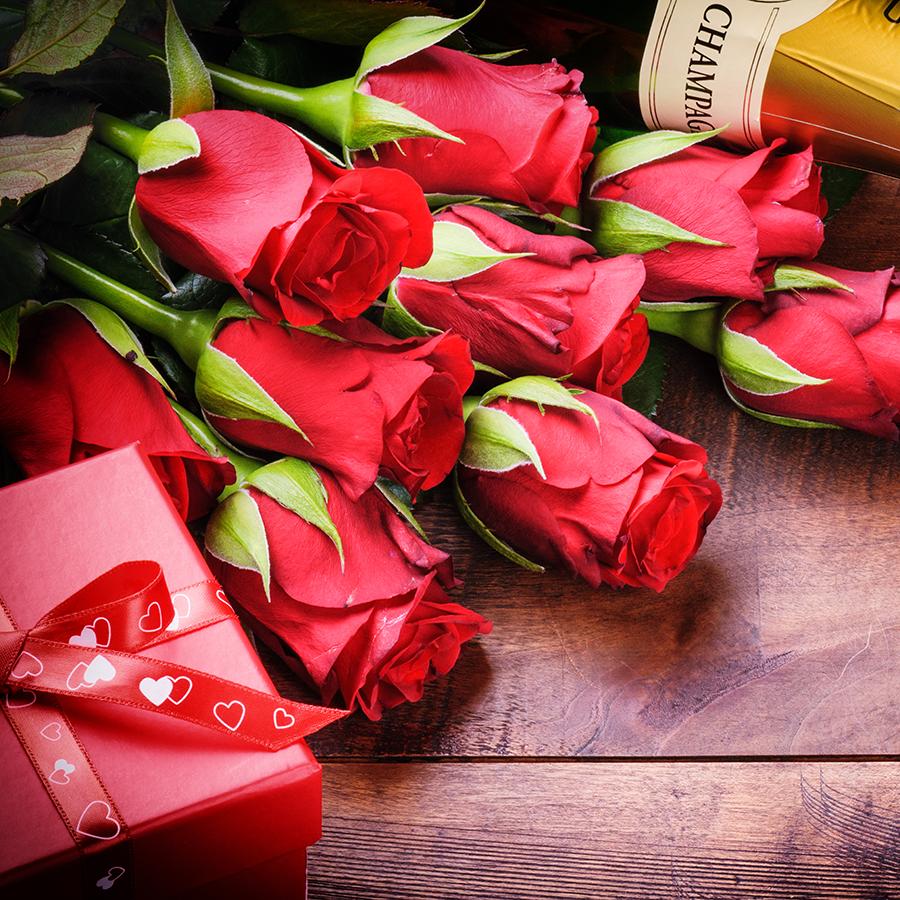 Прикольные открытки с днем рождения с розами, новому