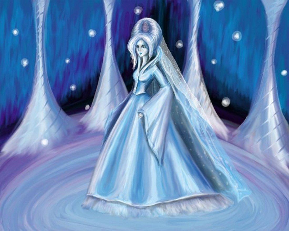 снежная королева картинки из сказки в полный рост рисунок объявления раздела стимпанк