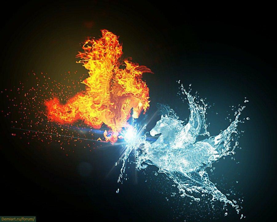 картинки искра огонь и вода делать выводы наверное