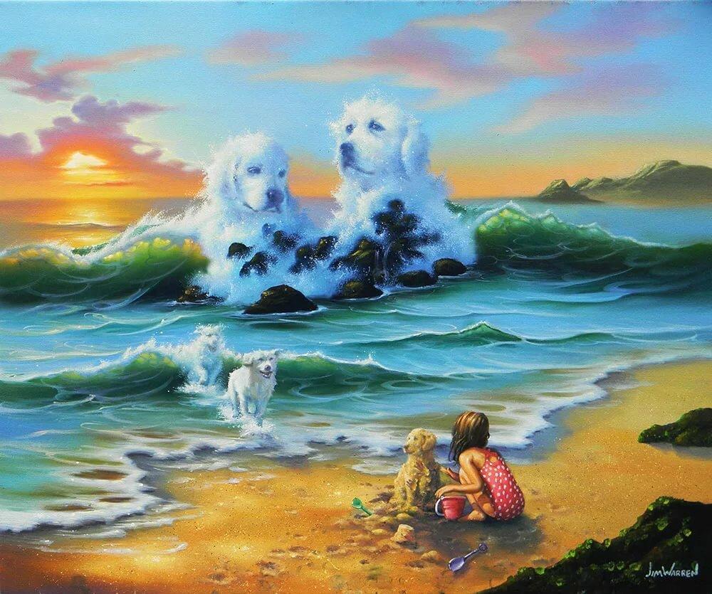 фото море джим уоррен это простой способ
