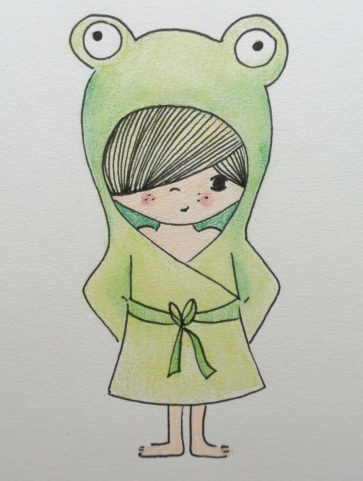 Картинки для срисовки детские девочки