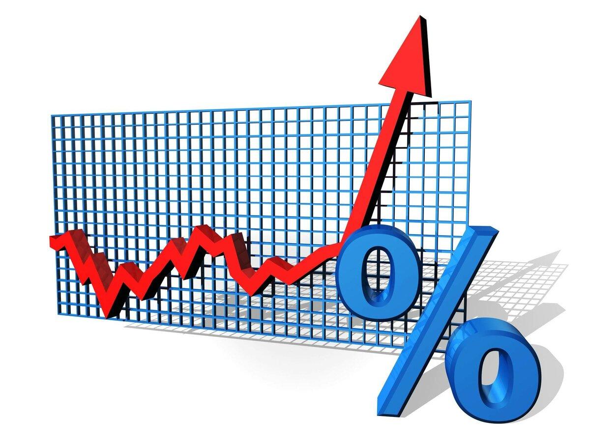 Рост в процентах картинки