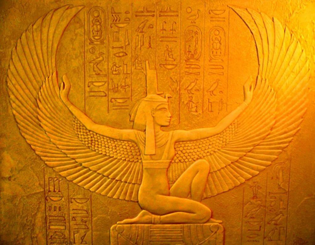 Египетская богиня исида картинка