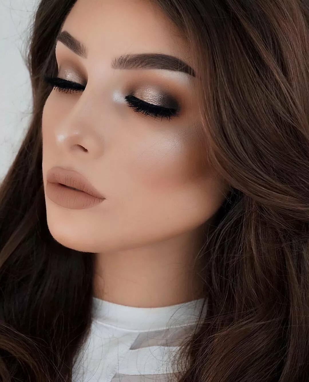 Красивый макияж с картинками