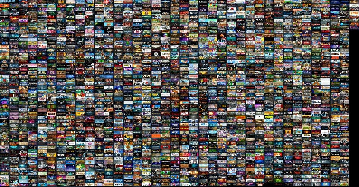 Много игр а одной картинке