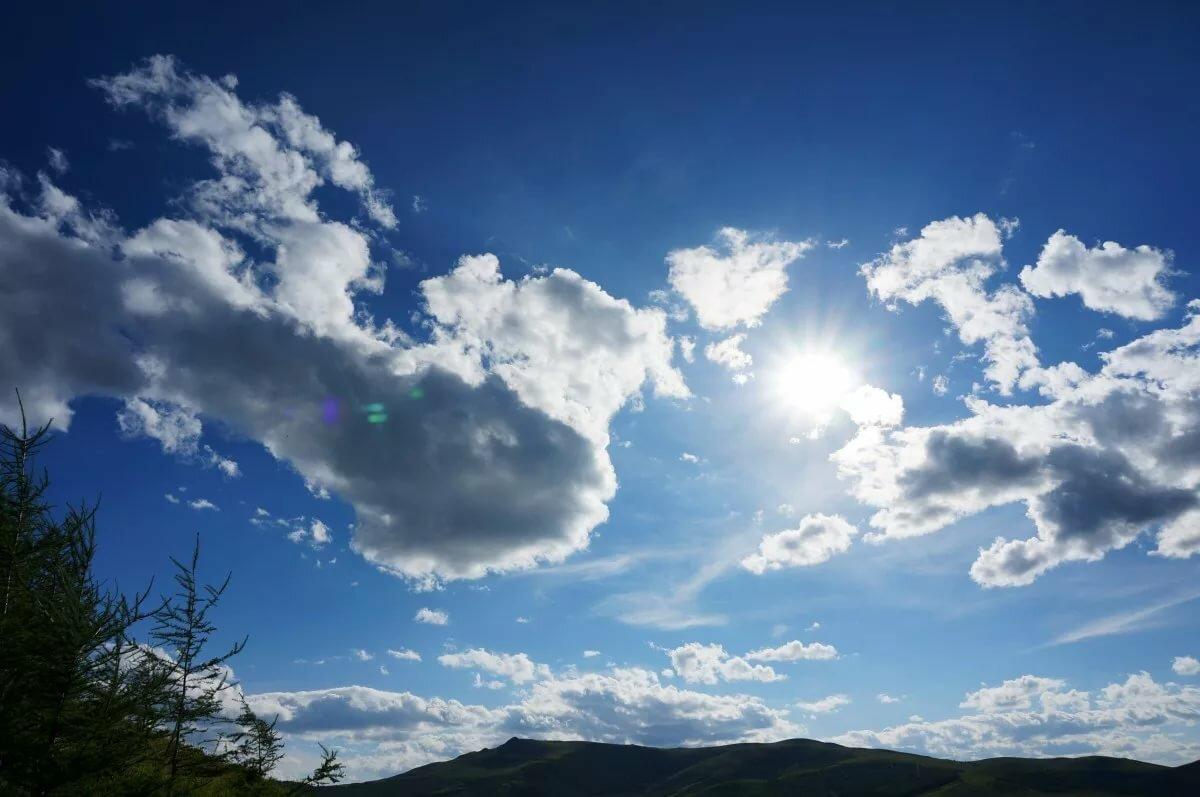 Картинки красивое небо с облаками