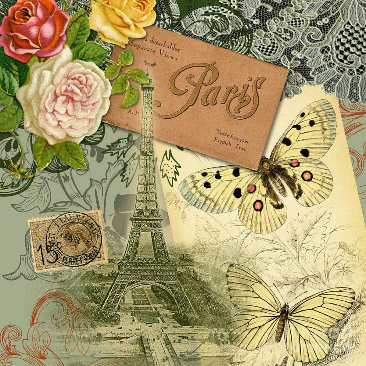 сайте открытка для поздравления по французски снова воск