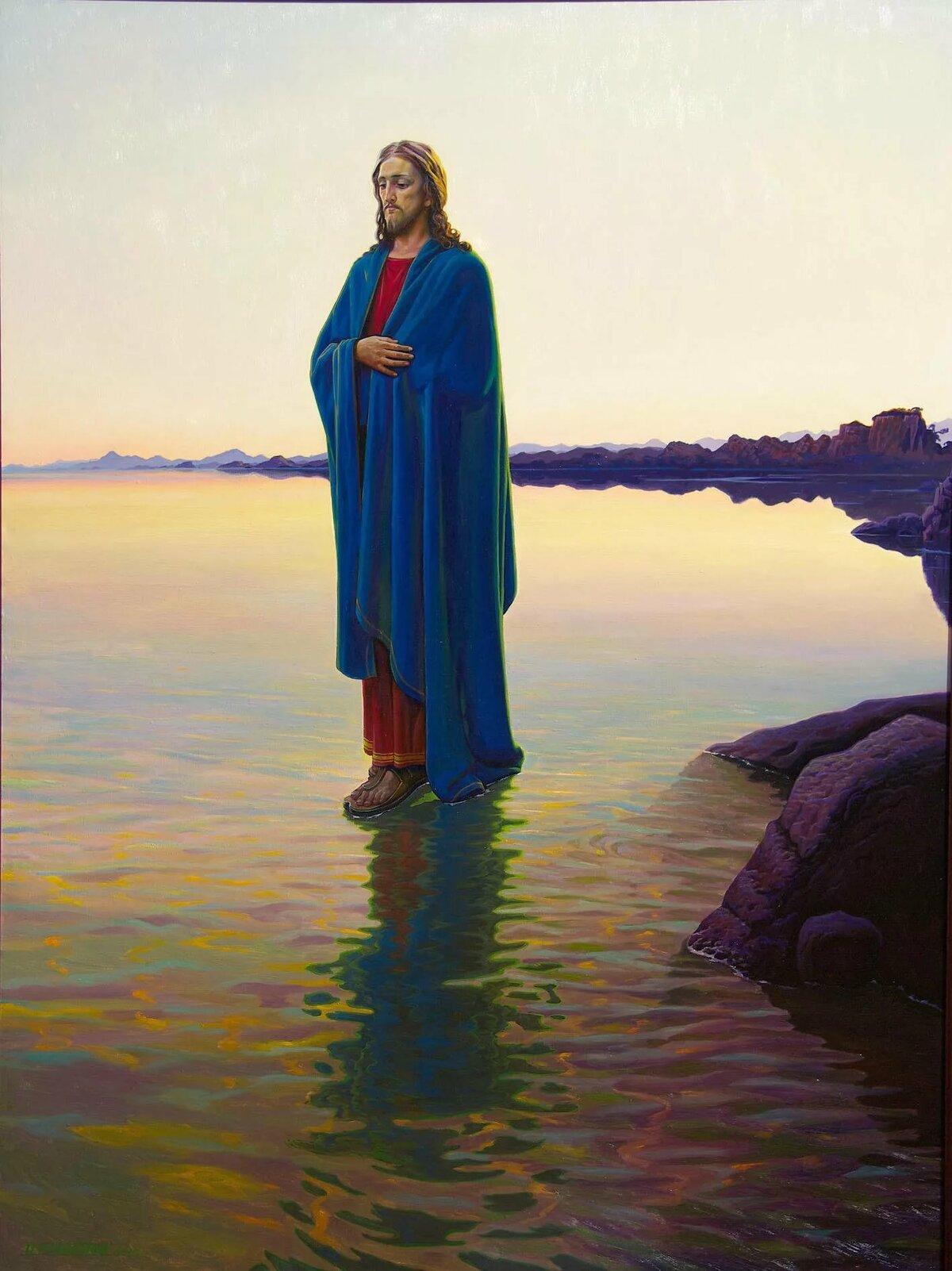 хождение по воде иисусом картинки современном интерьере спальни