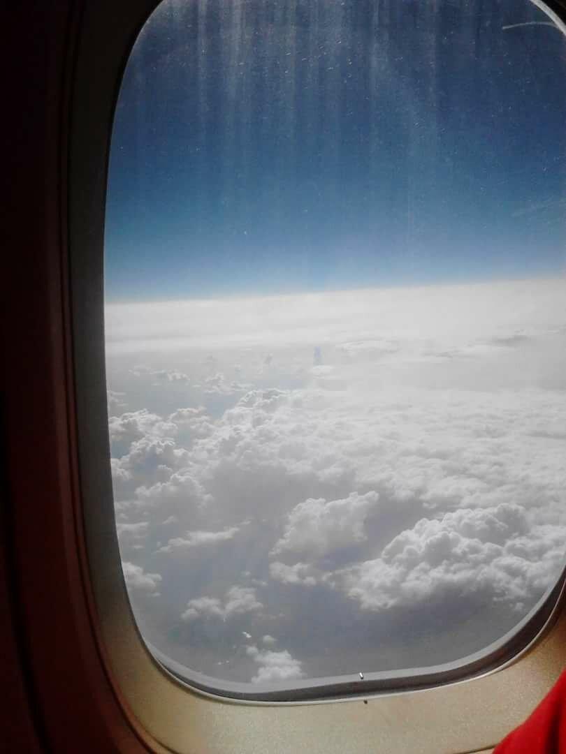Вид из окна самолета в картинках