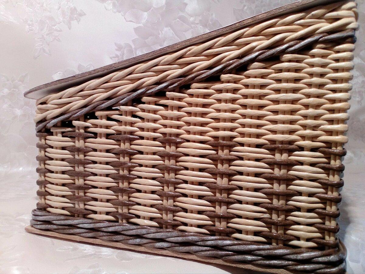Плетение из газеты картинка