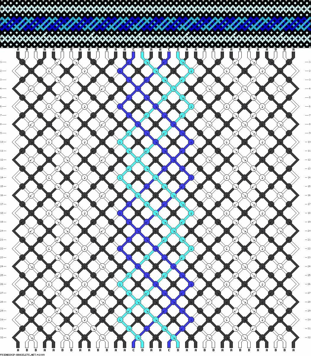 это перевод картинки в схему для фенечки эмали