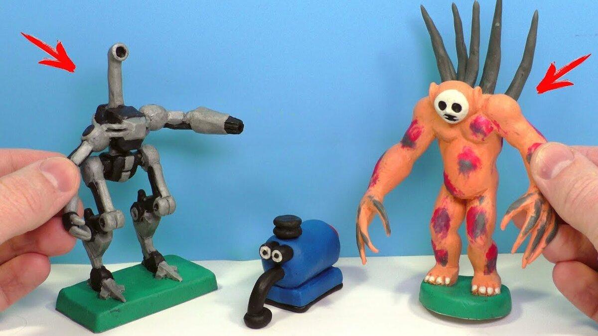 картинки пластилиновых фигурок из игр называется
