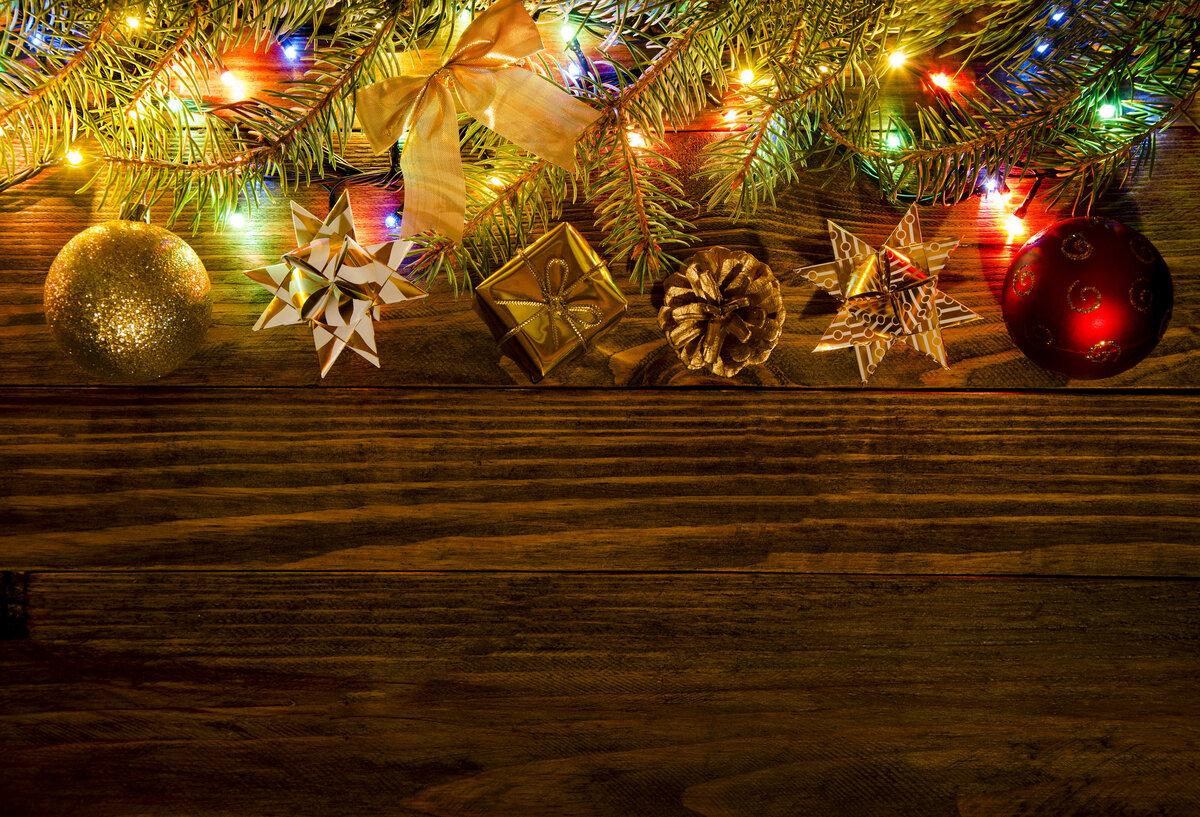 Добрыми пожеланиями, картинка с новым годом фон