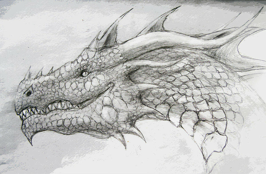 рисунки про драконов вероятно, создал