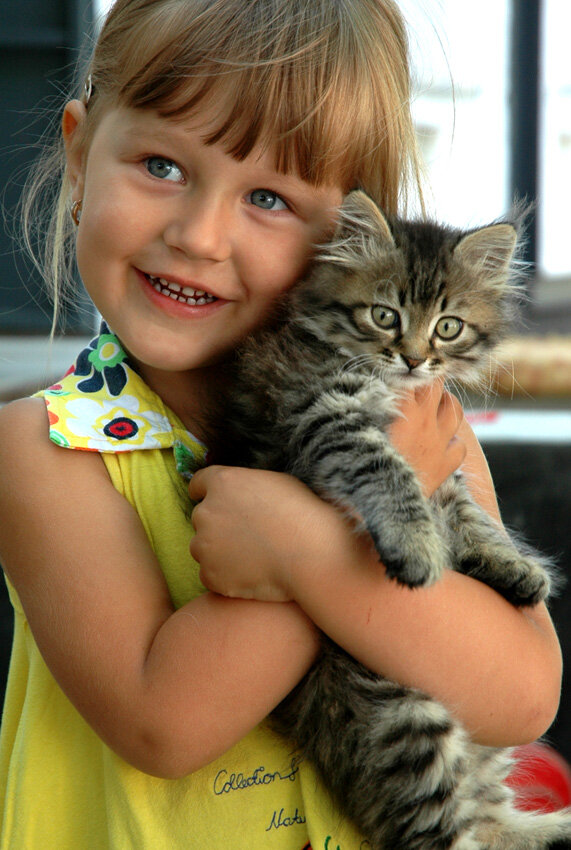 Девушек приколы, картинки для девочек 8-9 лет с животными красивые