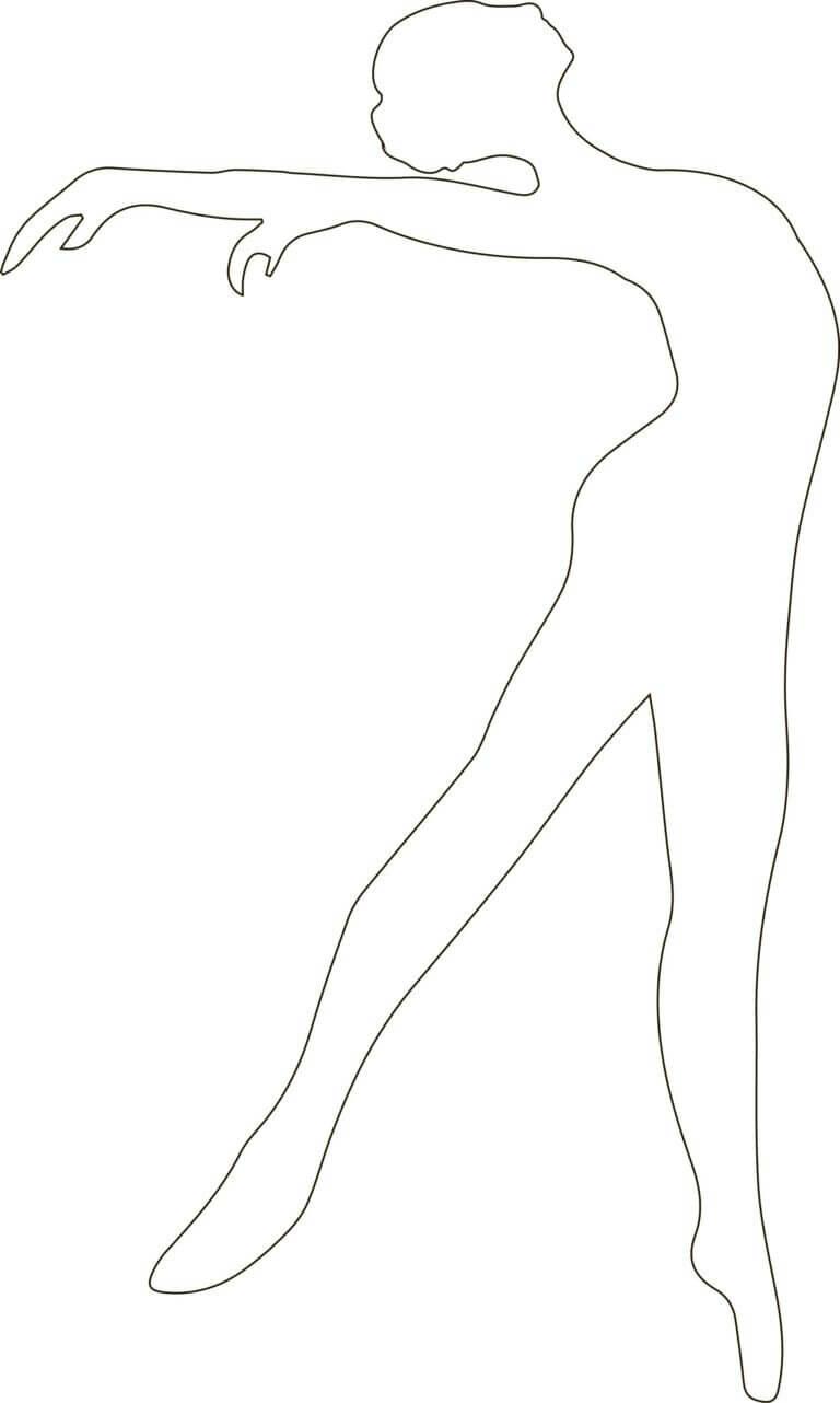 Днем милиции, трафарет девушки для вырезания из бумаги шаблоны распечатать