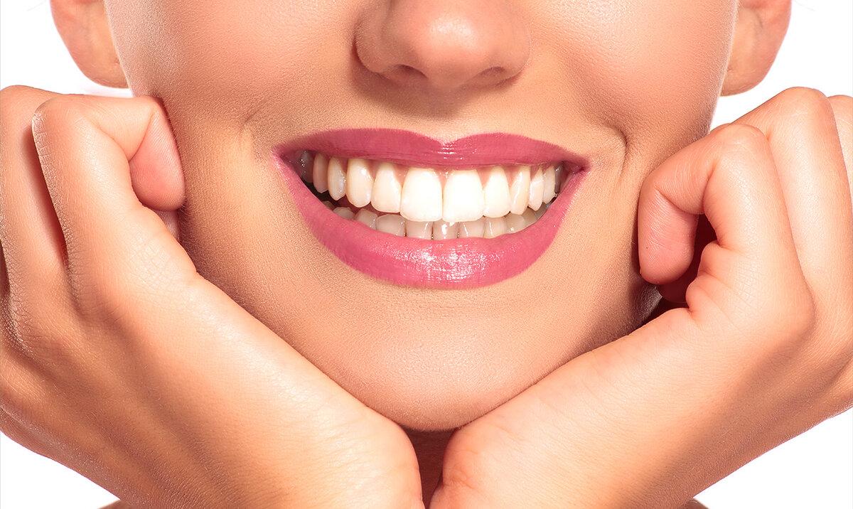 Красивые зубы фото улыбка женщины