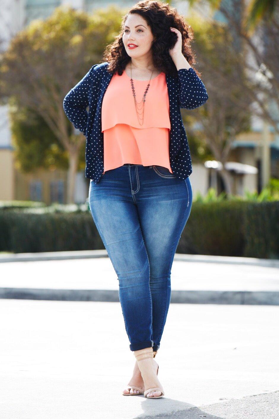 толстые женщины в джинсах - 11