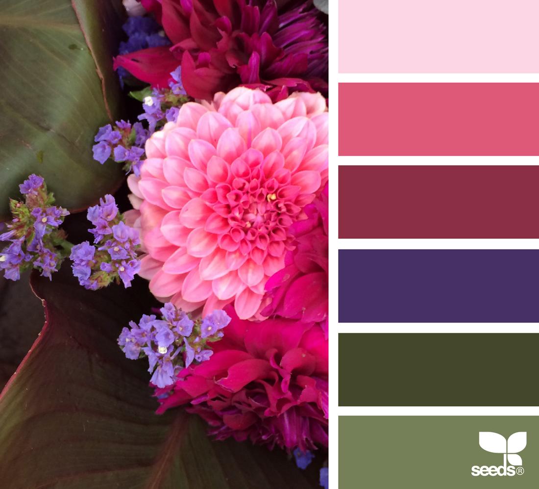 Сочетание цвета на открытках