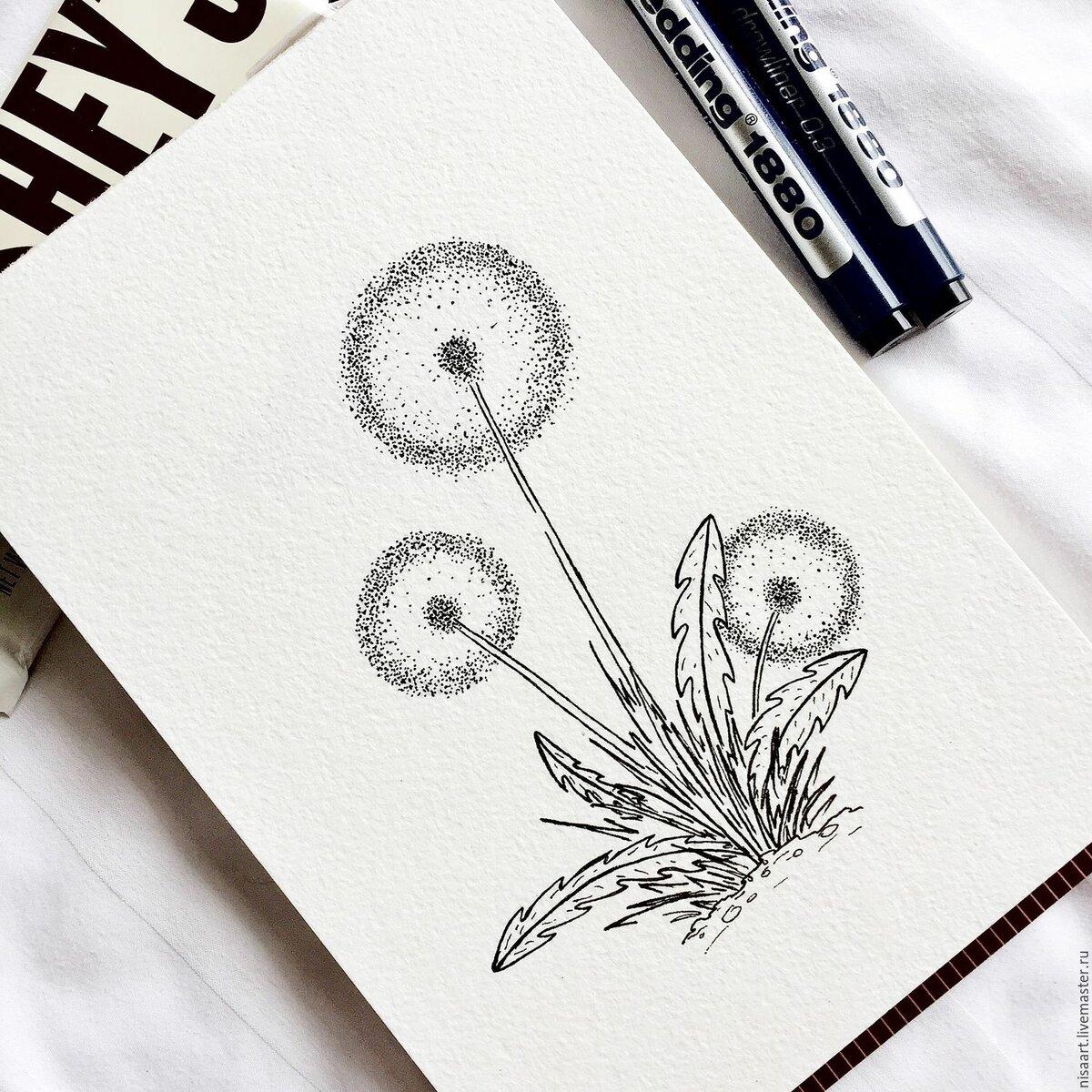 Картинки гелевой ручкой для начинающих, презентация открытка