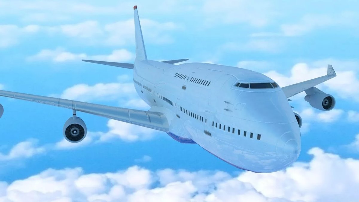 Картинки самолета анимация