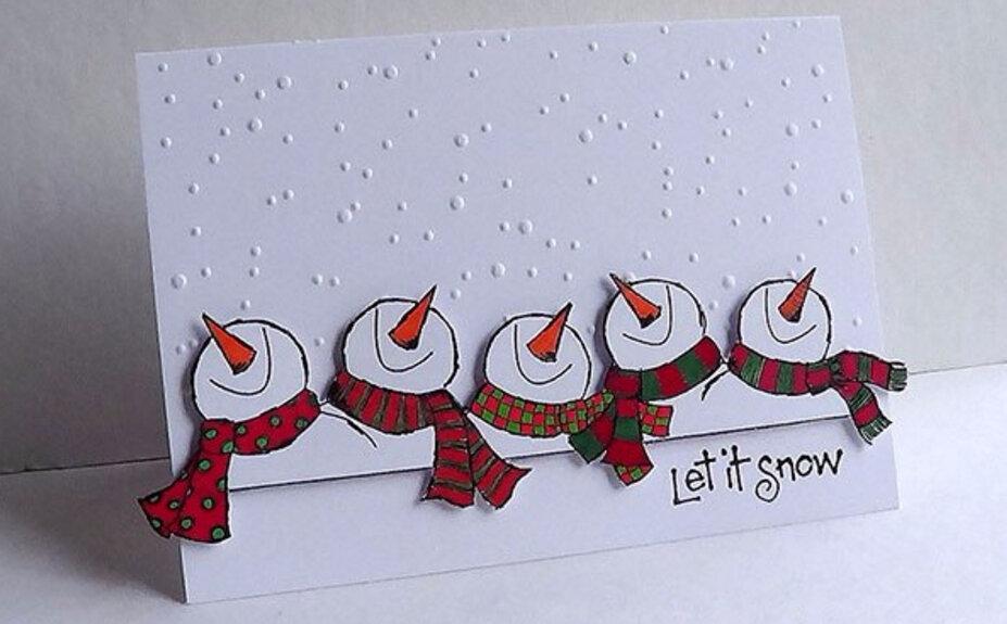 Крутые рисунки для открытки на новый год, праздник