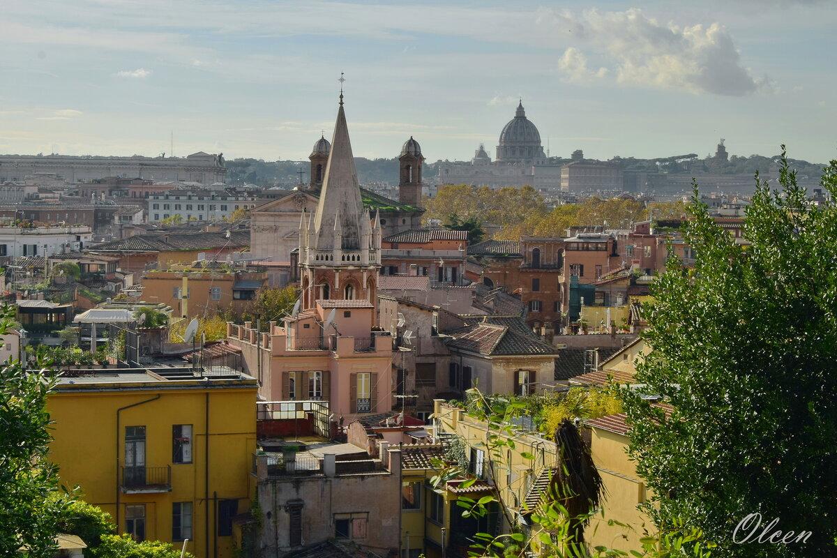 Крыши Рима