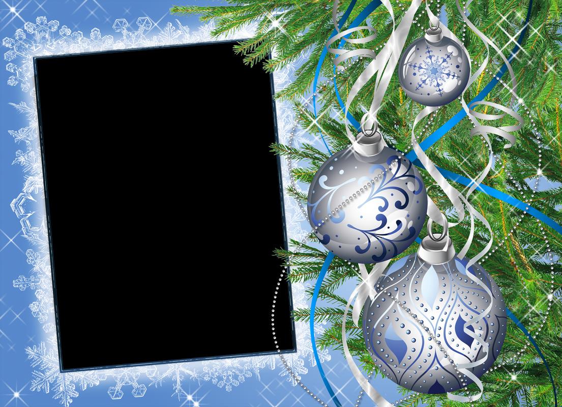 Шаблон новогодний открытки фотошоп, снегу