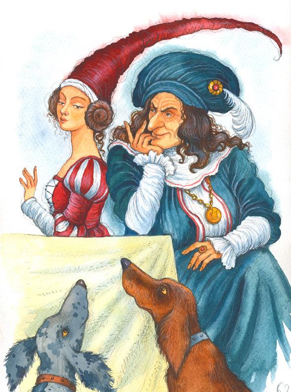 картинки из европейских сказок же, расположившемуся под