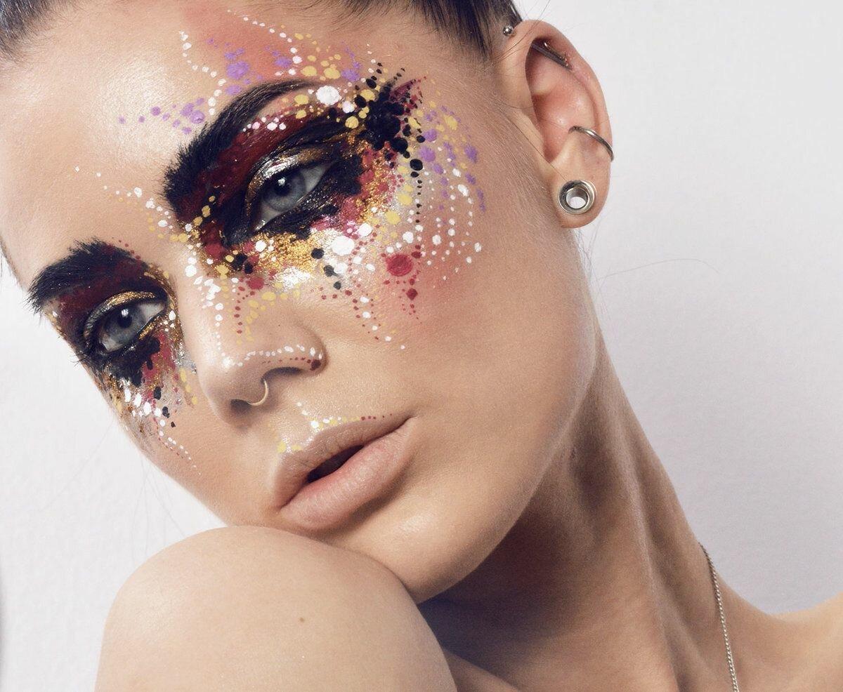Фантазийные макияжи картинки